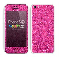 Pink Glitter Ultra Metallic Skin For The iPhone 5c