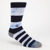 Stance Wally Mens Athletic Socks Blue Combo One Size For Men 25528924901