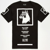Hall Of Fame Official Dawgs Mens T-Shirt Black  In Sizes