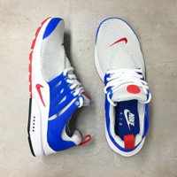 """NIKE"" Air Presto Women Men Fashion Running Sport Casual Shoes Sneakers Blue white B-AA-SDDSL-KHZHXMKH"