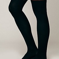 Free People  Solid Sheer Thigh Hi Tigh at Free People Clothing Boutique