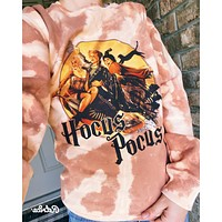 Hocus Pocus LIMITED EDITION Acid Washed Pullover
