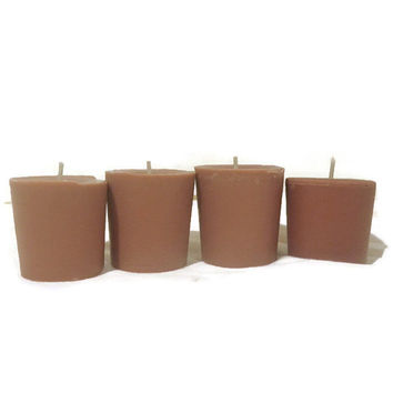 4 Home for the Holidays soy votive candles, scented candles, holiday candles