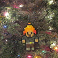 Firefly, Serenity Inspired Jayne Bead Sprite Magnet, Ornament, Wall Decor