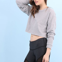 Jac Parker Play It Again Crop Pullover