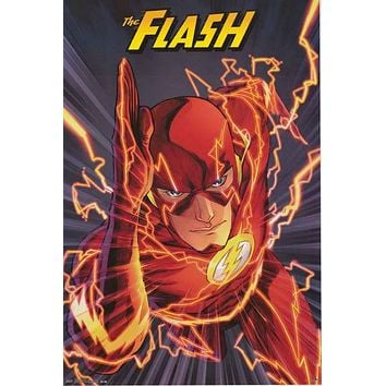 The Flash DC Comics Poster 24x36