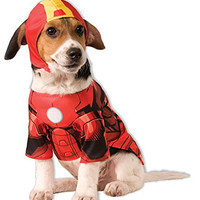 Rubies Costume Company Marvel Classic/Marvel Universe Iron Man Pet Costume, X-Large
