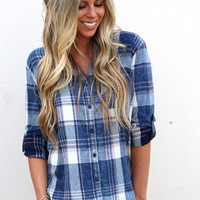 Day Breeze Plaid {Navy}