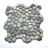 Speckled Gray Pebble Tile