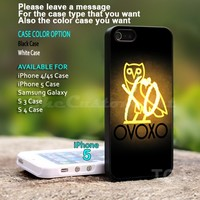 Drake Weeknd XO OVO ovoxo - For iPhone 5 Black Case Cover
