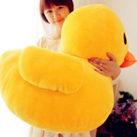 "30cm(12"") Giant Yellow Duck Stuffed Animal Plush Soft Toys Cute Doll Pillow = 1697604612"
