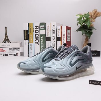 """""""Nike Air Max 720"""" Women Casual Personality Gradient Color Air Cushion Running Shoes Sneakers"""