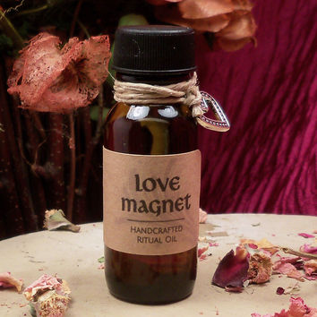 LOVE MAGNET OIL - Attract Love & New Friendships Using Power of Intention Law of Attraction