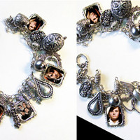 PANIC At THE DIsCO BReNDoN UrIE  Charm Bracelet