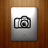 Camera Photography Apple iPad Decal by DecalLab on Etsy