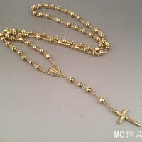Shiny Jewelry Stylish Gift New Arrival Handcrafts Chain Vintage High Quality Gold Necklace [6542720259]