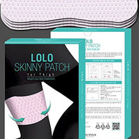 Lolopiani Lolo Skinny Patch for Thigh Weight Loss Slim Treatment (10pcs)