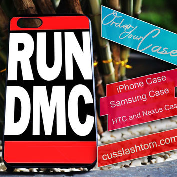 Exclusive Run DMC iPhone for 4 5 5c 6 Plus Case, Samsung Galaxy for S3 S4 S5 Note 3 4 Case, iPod for 4 5 Case, HtC One M7 M8