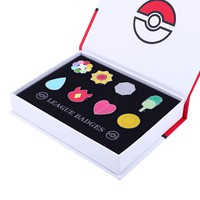 Pokemon League Gym Badges