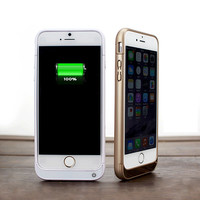 For iPhone 6s iPhone 6 Battery Charger Case 5800mAh Power Case Power Bank External Battery Pack Charge Cover Max 1A Output