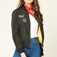 Air Force Patched Bomber Jacket