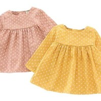 Girls Polka Dot Dresses
