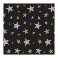 Beistle Party Decoration Accessory Star Backdrop insta theme 4' x 30' Pack of 6