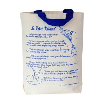 The Little Prince Storybook Kids Tote