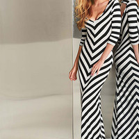 Teresa Stripe Maxi Dress