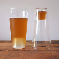 Shot in the Pint Drinking Glasses (Set of 2)