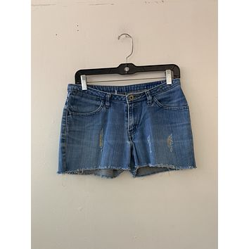 Levi's Distressed Short Shorts