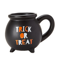Trick or Treat Cauldron Mug - Spirithalloween.com