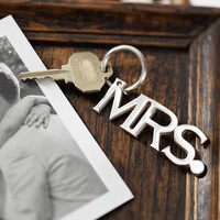 Mrs. Wedding Key Chain