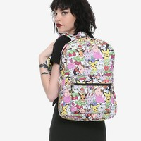 Loungefly Pokemon Print Backpack