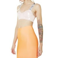 Neon Lights Bodycon Skirt