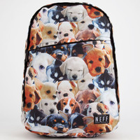 Neff Daily Puppy Backpack Brown Combo One Size For Women 25857244901