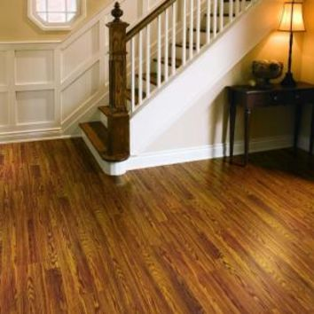 Pergo, Presto Gunstock Oak 8 mm Thick x 7-5/8 in. Wide x 47-5/8 in. Length Laminate Flooring (20.17 sq. ft. / case), LF000494 at The Home Depot - Mobile
