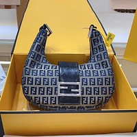 Fendi baguette crescent bag fashion trend shoulder bag