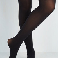 Layer It On Tights in Black
