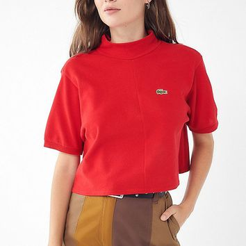 Urban Renewal Remade Mock-Neck Polo Shirt   Urban Outfitters