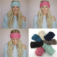 Winter Accessories ~ Headbands, Cable Knit Infinity Ear Warmers. Assorted Colors Available