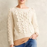 Winding Jacquard Pullover