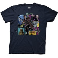 Doctor Who: Eleventh Doctor & Villains Comic T-Shirt
