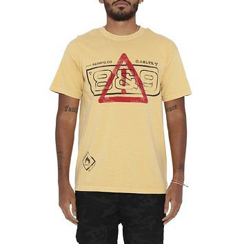 Alert T Shirt Yellow