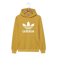 Yellow Adidas Hoodie Sweater for Women Men Gift