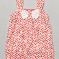 Pink & White Huckleberry Bow Dress - Infant & Toddler   zulily