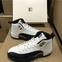"Air Jordan 12 ""CNY"" Basketball Sneaker"