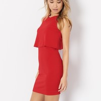 Double Layer Bodycon Dress