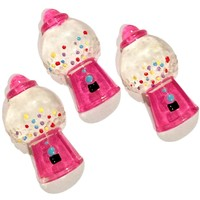 Gumball machine resin cabochon 18x31mm / 1-3 pieces