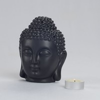 Aromatherapy oil furnace statue decoration Buddha Statue Candlestick Europe Candle Holder Moroccan Home Decoration Candlestick